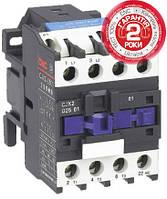 Пускатель электромагнитный CJX2-5011, 50A, АС3, 380В, NO+NC, 23кВт, минимальное содержание серебра 50%, CNC