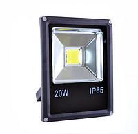 Прожектор LED-SLe- 20W 220В 1600lm 6500K кут 120 Slim Elite
