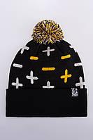 Теплая шапка зимняя мужская Urban Planet PLS_MNS_BLK