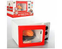 Детская бытовая техника  Микроволновка5217 - батар,свет,звук, в кор.21*15*24см