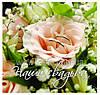 Фотоальбом Весілля 20 магніт.листів 28x31cm (рожева троянда)