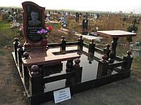 Памятники гранитные с установкой