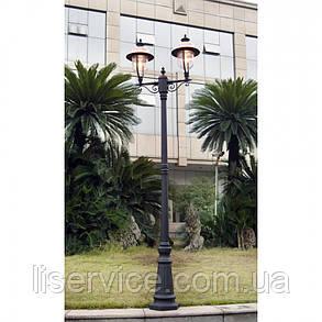 QMT 21036Е Verona II Светильник парковый,черн, фото 2