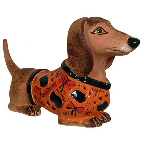 Статуэтка керамическая Собака Такса