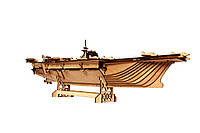 3D пазл «Авианосец», конструктор из дерева