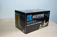 Інсуліновий шприц Wellion MEDFINE 30 шт 1 мл 30G x 8мм U100