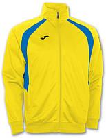 Спортивная кофта Joma Champion III 100017.907 желто-синяя ( олимпийка )