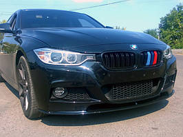 Накладка губа на передний М-бампер BMW 3 series F30