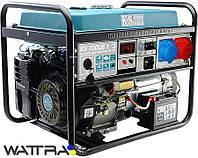 ⭐ Генератор бензиновий (5,5 кВт / 230 - 380 V) Könner&Söhnen KS 7000E-1/3