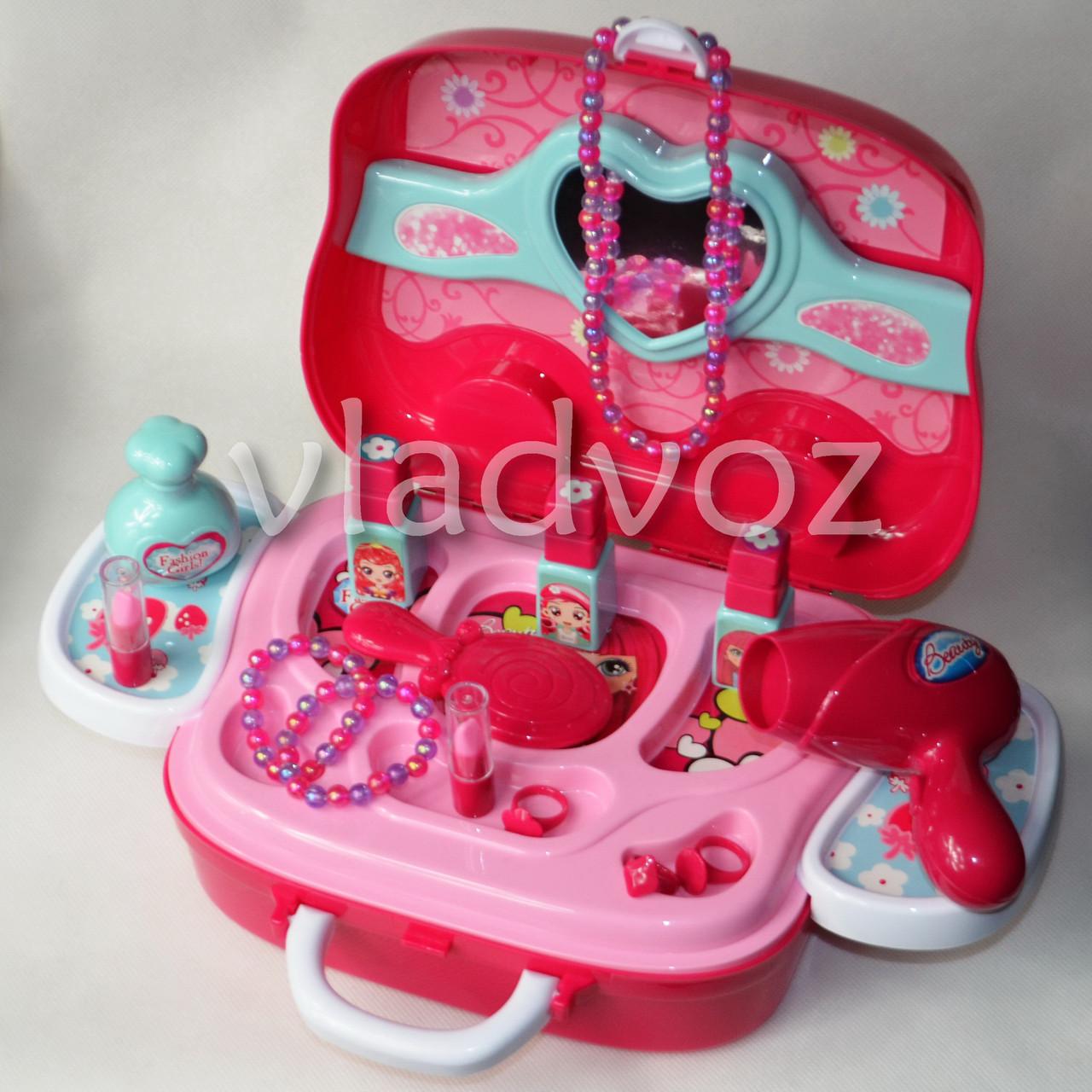 фото набора детского декоративной косметики в чемоданчике Beauty Set вид с переди