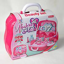 Набор детской декоративной косметики для девочек в чемоданчике муляж Beauty Set, фото 3