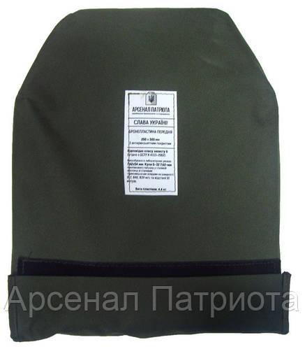 """Бронепластина 6 класс """"Штурм"""" 250х300 мм, """"Armox 600T + СВМПЭ"""""""