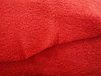 Флис красный (170см) плотность 180, фото 1