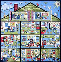 Ковер в детскую Кукольный дом