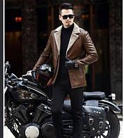 Чоловіча шкіряна куртка. Модель 61665, фото 8