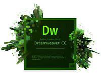 Dreamweaver CC  ALL Multiple Platforms | Мультиязычный | Первоначальная покупка | 1 User | Level 1 1 - 9 (65270365BA01A12)