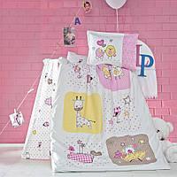 Детский комплект постельного белья, ранфорс