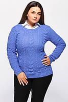 Женский свитер с узором