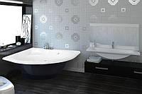Ванна з литого мармуру ROCK DESIGN Симетрія 140*140