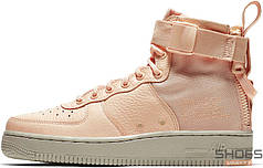 Женские кроссовки NIKE SF Air Force 1 Utility Mid Pink