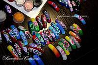 Китайская роспись акриловыми красками