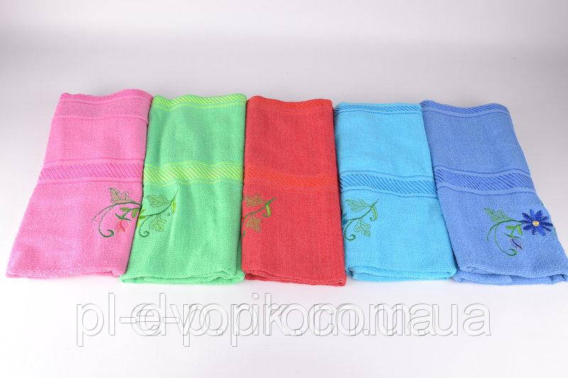 Банний махровий рушник Колір - як На фото Розмір - 130x65 см ( різних кольорів ) Склад - 100% коттон Виробляй