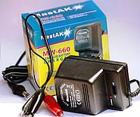 Зарядное устройство для скутера 12/6V 0,5A (универсальное)
