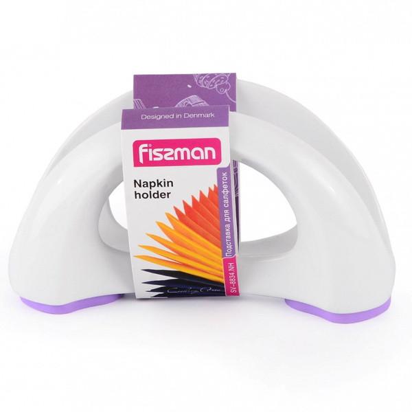 Настольная подставка из керамики 16х6х8см для бумажных салфеток Fissman