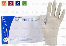Перчатки латексные 6,4г/м² неопудренные (100 шт/уп) Медиком SafeTouch®