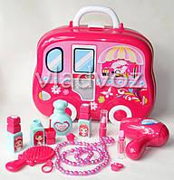 Набор детской декоративной косметики для девочек в чемоданчике муляж Beauty Set