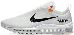 Мужские кроссовки Nike Air Max 97 OG x Off-White AJ4585-100, Найк Аир Макс 97