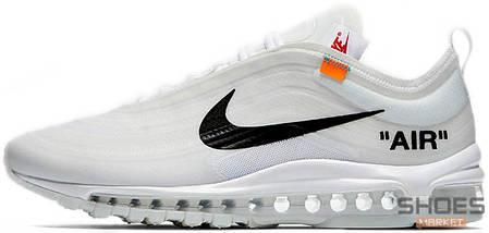7cd8c645 Мужские кроссовки OFF-WHITE x Nike Air Max 97 White купить в ...