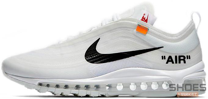 20ef3508 Мужские Кроссовки OFF-WHITE X Nike Air Max 97 White — в Категории ...