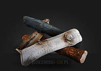 Керамические дрова GLOBMETAL к биокаминам