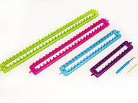 Станок для вязания прямоугольный(набор 4 размера) (long knitting loom set)
