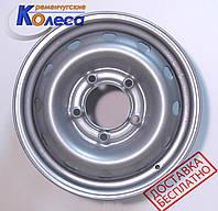 Колесные диски Niva Chevrolet R15 W6 PCD 5x139.7 ET40 DIA98.5 серебро, КрКЗ
