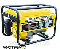 Генератор бензиновый СВИТЯЗЬ CG3600 (2,5 кВт) электрогенератор (генератор напряжения) бесплатная доставка
