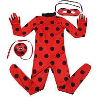 Карнавальный костюм Леди Баг Божья коровка Miraculous Ladybug (копия), фото 1