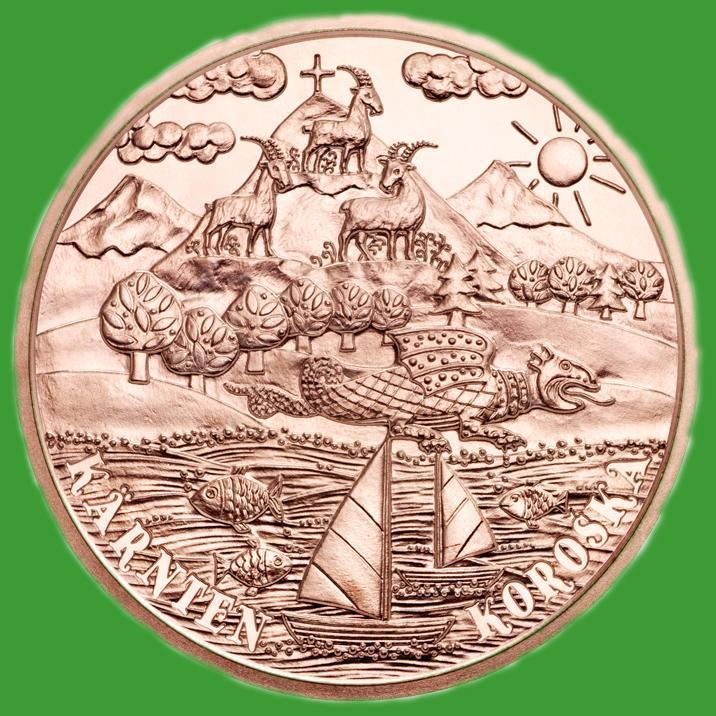 Австрія 10 євро 2012 р. Федеральні провінції Карінтія , UNC.