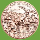 Австрія 10 євро 2012 р. Федеральні провінції Карінтія , UNC., фото 2