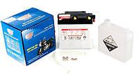 Мото аккумулятор АКБ 6V 11A ЯВА с электролитом