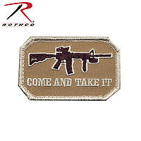 "Нашивка Airsoft Velcro Color Patch - ""Come And Take It"""