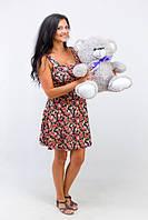Плюшевый медведь Томми размер 50см ТМ TeddyBoom (Украина)  много расцветок