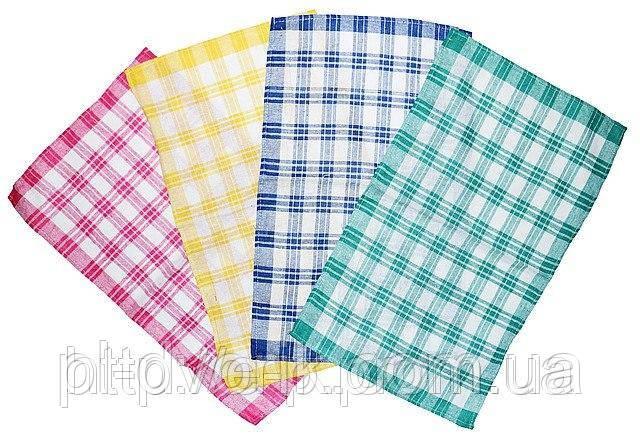 Лляне рушник в клітинку, велике (33 см х 57 см), різних кольорів. Колір - як На фото Розмір - 33 см х 57 см