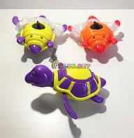 Заводная детская игрушка черепашка в ванну