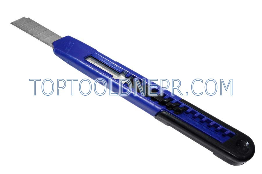 Нож с выдвижным лезвием   Wilton  , пластиковоый корпус, карбонная сталь, авто механизм