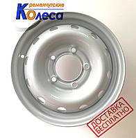 Колесные диски Шевроле Нива R15 W6 PCD 5x139.7 ET40 DIA98.5 серый, КрКЗ