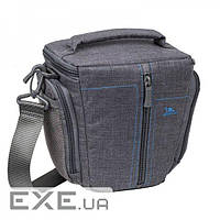 Сумка для фотокамеры RivaCase 7501 Canvas Case Small Grey (7501 Canvas Case Small Grey)