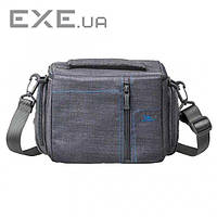 Сумка для фотокамеры RivaCase 7502 Canvas Case Grey (7502 Canvas Case Grey)