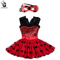 Карнавальный костюм платье Леди Баг Божья коровка Miraculous Ladybug (копия), фото 1